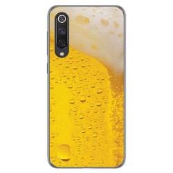 Funda Gel Tpu para Xiaomi Mi 9 SE diseño Cerveza Dibujos