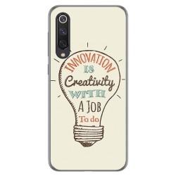 Funda Gel Tpu para Xiaomi Mi 9 SE diseño Creativity Dibujos