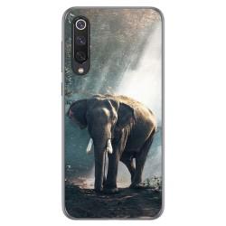 Funda Gel Tpu para Xiaomi Mi 9 SE diseño Elefante Dibujos