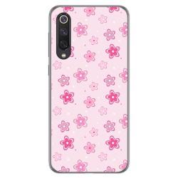 Funda Gel Tpu para Xiaomi Mi 9 SE diseño Flores Dibujos