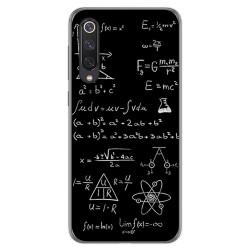 Funda Gel Tpu para Xiaomi Mi 9 SE diseño Formulas Dibujos