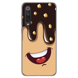 Funda Gel Tpu para Xiaomi Mi 9 SE diseño Helado Chocolate Dibujos