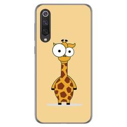 Funda Gel Tpu para Xiaomi Mi 9 SE diseño Jirafa Dibujos