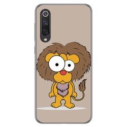 Funda Gel Tpu para Xiaomi Mi 9 SE diseño Leon Dibujos