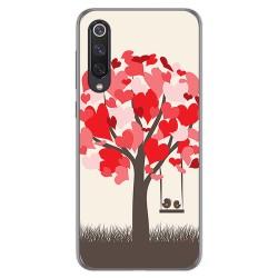 Funda Gel Tpu para Xiaomi Mi 9 SE diseño Pajaritos Dibujos