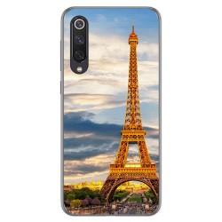 Funda Gel Tpu para Xiaomi Mi 9 SE diseño Paris Dibujos