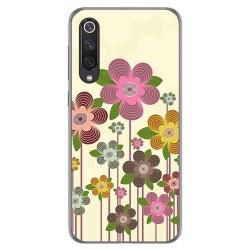 Funda Gel Tpu para Xiaomi Mi 9 SE diseño Primavera En Flor Dibujos