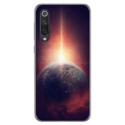 Funda Gel Tpu para Xiaomi Mi 9 SE diseño Tierra Dibujos
