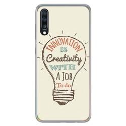 Funda Gel Tpu para Samsung Galaxy A70 diseño Creativity Dibujos