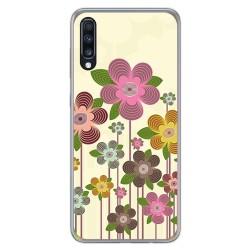Funda Gel Tpu para Samsung Galaxy A70 diseño Primavera En Flor Dibujos
