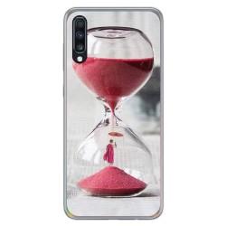 Funda Gel Tpu para Samsung Galaxy A70 diseño Reloj Dibujos