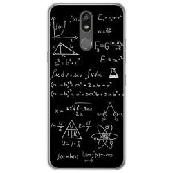 Funda Gel Tpu para Lg K40 diseño Formulas Dibujos