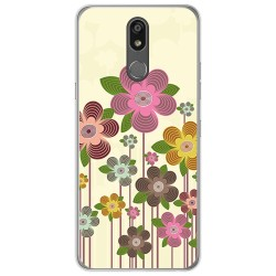 Funda Gel Tpu para Lg K40 diseño Primavera En Flor Dibujos
