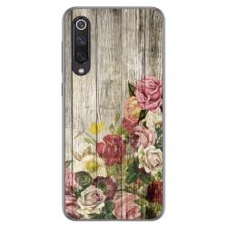 Funda Gel Tpu para Xiaomi Mi 9 SE diseño Madera 08 Dibujos