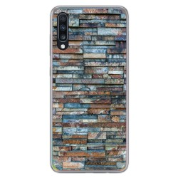 Funda Gel Tpu para Samsung Galaxy A70 diseño Ladrillo 05 Dibujos