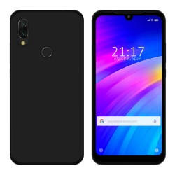 Funda Gel Tpu para Xiaomi Redmi 7 Color Negra