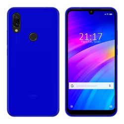 Funda Gel Tpu para Xiaomi Redmi 7 Color Azul