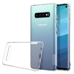 Funda Gel Tpu Nillkin Nature para Samsung Galaxy S10 color Transparente