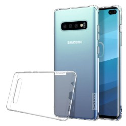 Funda Gel Tpu Nillkin Nature para Samsung Galaxy S10 Plus color Transparente