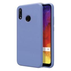 Funda Silicona Líquida Ultra Suave para Huawei Y6 2019 / Y6s 2019 color Azul Celeste