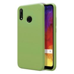 Funda Silicona Líquida Ultra Suave para Huawei Y6 2019 / Y6s 2019 color Verde