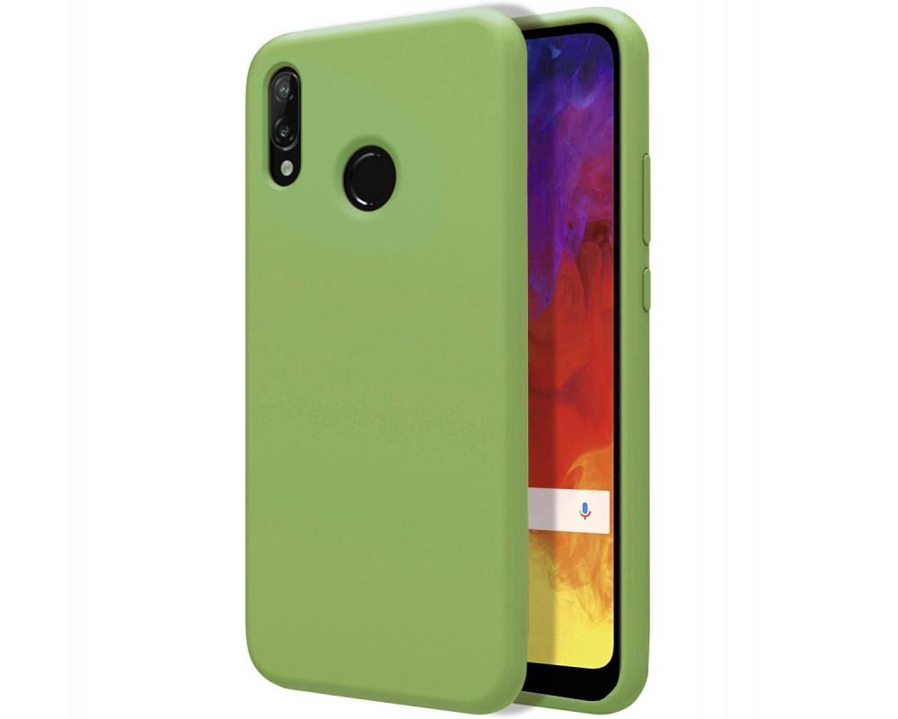 23452638895 Funda Silicona Líquida Ultra Suave para Huawei Y6 2019 color Verde