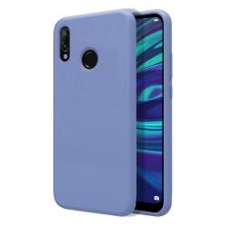 Funda Silicona Líquida Ultra Suave para Huawei Y7 2019 color Azul Celeste