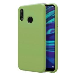 Funda Silicona Líquida Ultra Suave para Huawei Y7 2019 color Verde