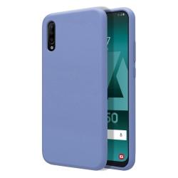 Funda Silicona Líquida Ultra Suave para Samsung Galaxy A50 / A50s / A30s color Azul Celeste