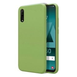 Funda Silicona Líquida Ultra Suave para Samsung Galaxy A50 / A50s / A30s color Verde