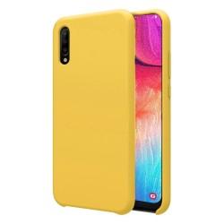 Funda Silicona Líquida Ultra Suave para Samsung Galaxy A50 / A50s / A30s color Amarilla