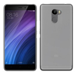 Funda Gel Tpu para Xiaomi Redmi 4 Color Transparente