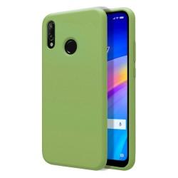 Funda Silicona Líquida Ultra Suave para Xiaomi Redmi 7 color Verde