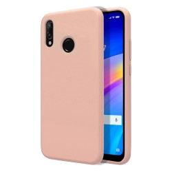 Funda Silicona Líquida Ultra Suave para Xiaomi Redmi 7 color Rosa
