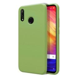 Funda Silicona Líquida Ultra Suave para Xiaomi Redmi Note 7 color Verde