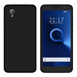 Funda Gel Tpu para Alcatel 1 (2019) Color Negra
