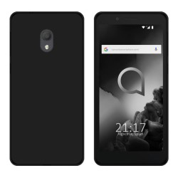 Funda Gel Tpu para Alcatel 1C (2019) Color Negra