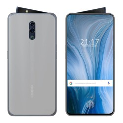 Funda Gel Tpu para Oppo Reno Color Transparente