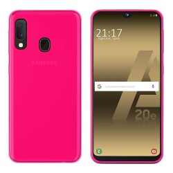 Funda Gel Tpu para Samsung Galaxy A20e 5.8 Color Rosa