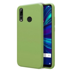 Funda Silicona Líquida Ultra Suave para Huawei P Smart + Plus 2019 color Verde