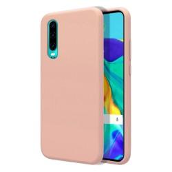 Funda Silicona Líquida Ultra Suave para Huawei P30 color Rosa