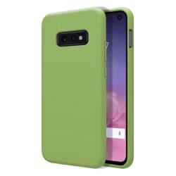 Funda Silicona Líquida Ultra Suave para Samsung Galaxy S10e color Verde