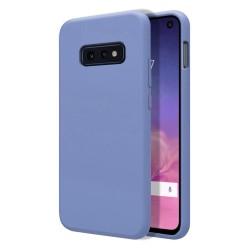 Funda Silicona Líquida Ultra Suave para Samsung Galaxy S10e color Azul Celeste