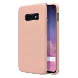Funda Silicona Líquida Ultra Suave para Samsung Galaxy S10e color Rosa