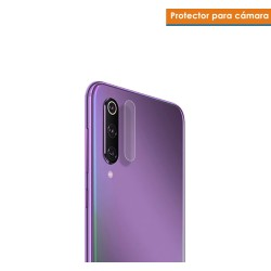 Protector Cristal Templado Cámara Trasera para Xiaomi Mi 9 SE Vidrio