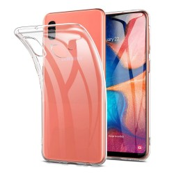 Funda Gel Tpu Fina Ultra-Thin 0,5mm Transparente para Samsung Galaxy A20e 5.8