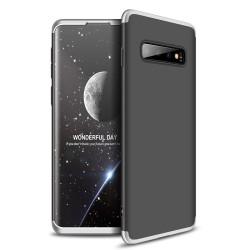 Funda Carcasa GKK 360 para Samsung Galaxy S10 Color Negra / Plata
