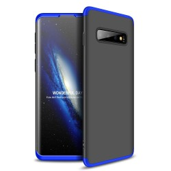 Funda Carcasa GKK 360 para Samsung Galaxy S10 Plus Color Negra / Azul