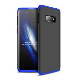 Funda Carcasa GKK 360 para Samsung Galaxy S10e Color Negra / Azul