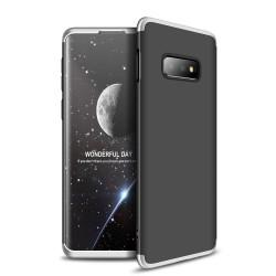 Funda Carcasa GKK 360 para Samsung Galaxy S10e Color Negra / Plata